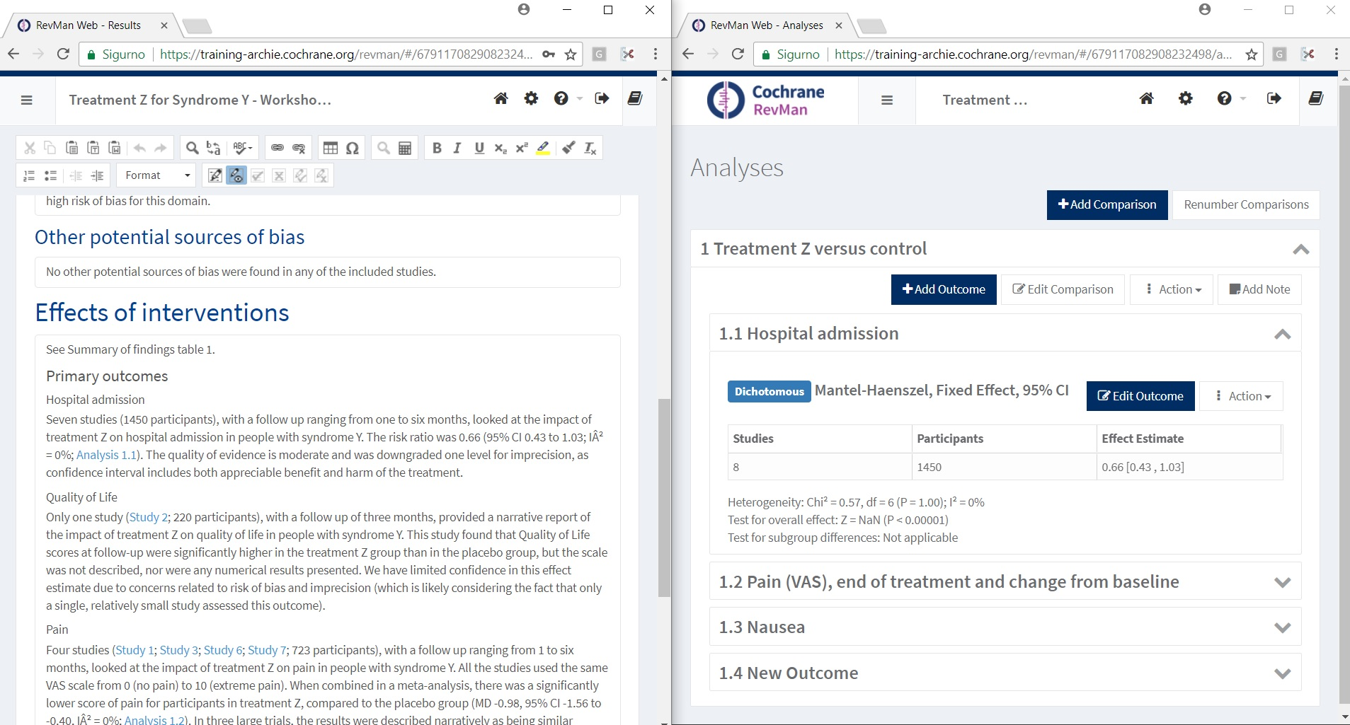 How to split the review/screen - RMW Knowledge Base